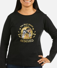 Animal Rescue T-shirt - The be Long Sleeve T-Shirt