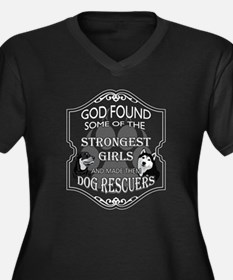 Animal Rescue T-shirt - God foun Plus Size T-Shirt