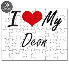 I Love My Deon Puzzle