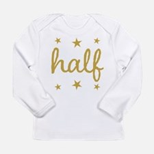Half Birthday Outfit Stars Long Sleeve T-Shirt