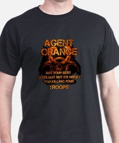 Agent Orange T-shirt - Agent Orange Not yo T-Shirt
