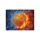 Basketball 5x7 Rugs