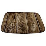 Wood plank Memory Foam Bathmats