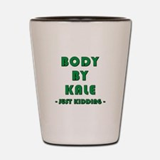 BODY BY... Shot Glass