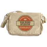 Ham radio Canvas Messenger Bags