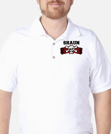 shaun is a pirate Golf Shirt
