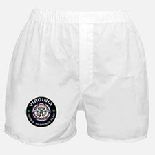 VA RT White Boxer Shorts
