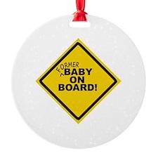 Unique Baby board Ornament