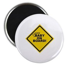 Cute Funny baby on board Magnet