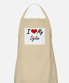 I Love My Dylan Apron
