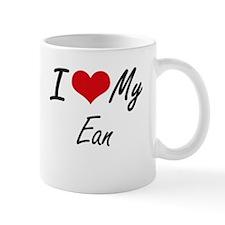 I Love My Ean Mugs