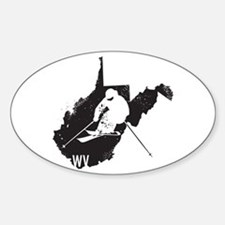 Ski West Virginia Decal
