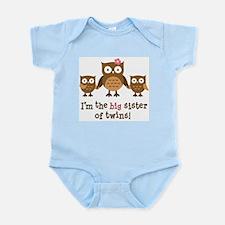 Cute Twin pregnancy Infant Bodysuit