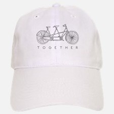 TOGETHER TANDEM BIKE Baseball Baseball Baseball Cap
