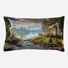 Wildlife Landscape Pillow Case
