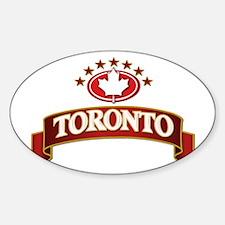 Toronto 7 estrellas Bumper Stickers