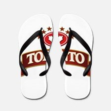 Toronto 7 estrellas Flip Flops