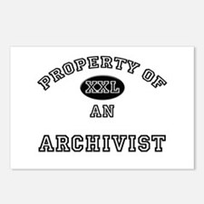 Property of an Archivist Postcards (Package of 8)