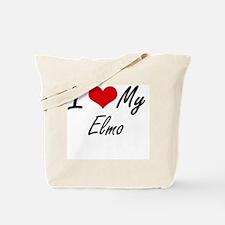 Unique Elmo Tote Bag