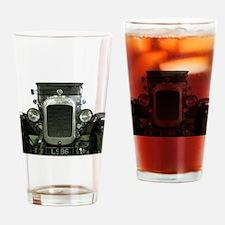 vintage convertible motor car Drinking Glass