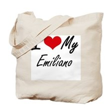 Cute Emiliano Tote Bag