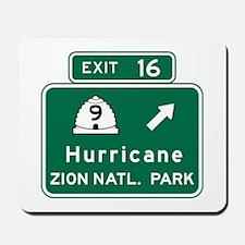 Hurricane-Zion Natl Park, UT Mousepad