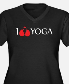i love yoga Plus Size T-Shirt