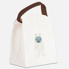 Yeti Creature Canvas Lunch Bag
