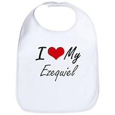 I Love My Ezequiel Bib