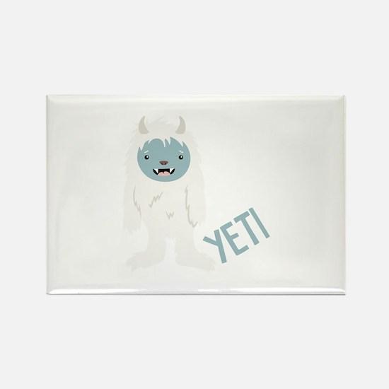 Yeti Monster Magnets