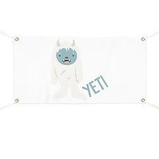 Yeti Monster Banner