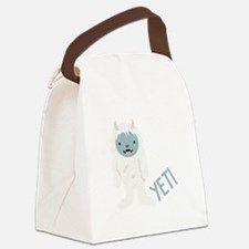 Yeti Monster Canvas Lunch Bag