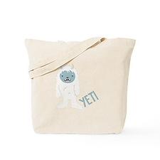 Yeti Monster Tote Bag