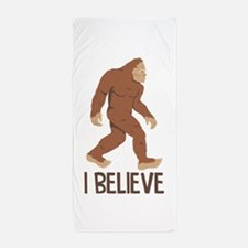 I Believe Beach Towel