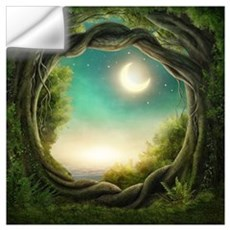 Magic Moon Tree Wall Art Wall Decal