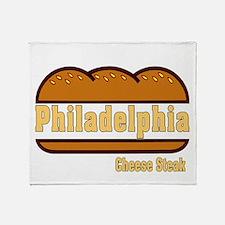 Philly Cheesesteak Throw Blanket