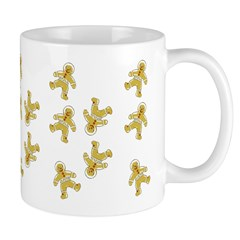 Victorian Gingerbread Man Ceramic Coffee Mug