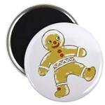 "Victorian Gingerbread Man 2.25"" Magnet (10 pack)"