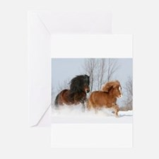Cute Icelandic horse Greeting Cards (Pk of 10)