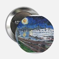 """River Boat on Mississippi 2.25"""" Button"""