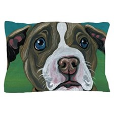 Pit Bull Puppy Pillow Case