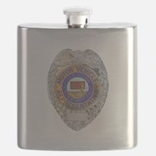 California Motor Vehicle Department Flask