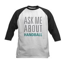Ask Me About Handball Baseball Jersey
