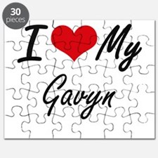 I Love My Gavyn Puzzle