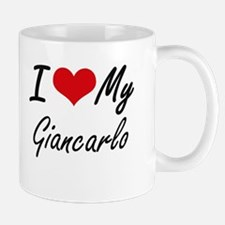 I Love My Giancarlo Mugs