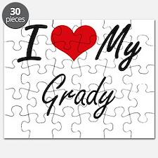 I Love My Grady Puzzle