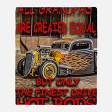 Cute Rat rod Throw Blanket