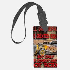 Unique Rat rod Luggage Tag