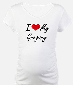 I Love My Gregory Shirt