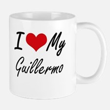 I Love My Guillermo Mugs